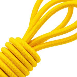 Cordon élastique en polyester jaune - 717/050 - D17