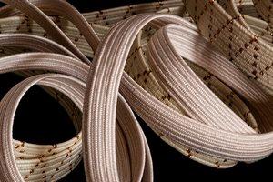 Tresses élastiques en coton bio
