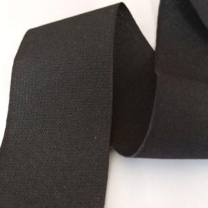 Sangle noire tissée en polyester 40mm - GT2105/046 - D01