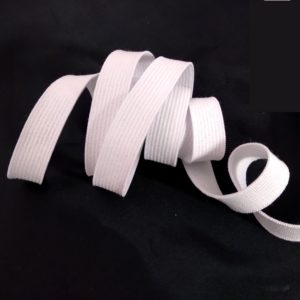 Maille élastique blanche