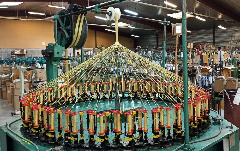 Machine à tresser 24 fuseaux
